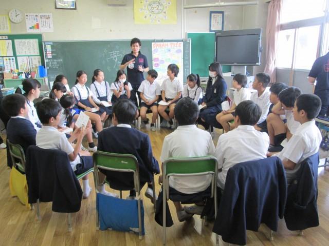"""台東区立東泉小学校""""ワクワクゆめ教室""""実施しました"""