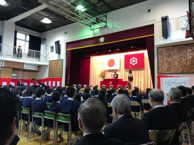 2017年度東泉小学校卒業式